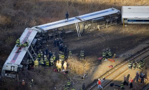 APphoto_YE  NYC Train Derailment